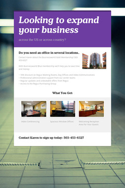 Looking to expand your business