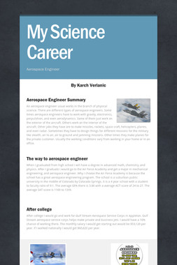 My Science Career