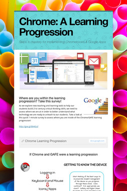 Chrome: A Learning Progression