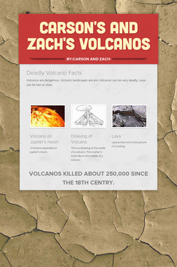 Carson's and Zach's Volcanos