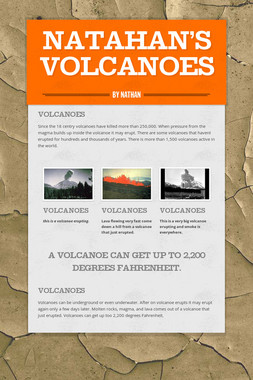 Natahan's Volcanoes