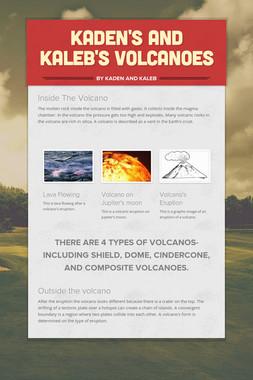 Kaden's and Kaleb's Volcanoes