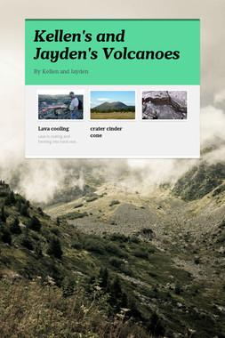 Kellen's and Jayden's Volcanoes