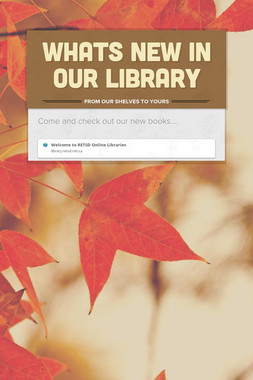 Whats New in Our Library