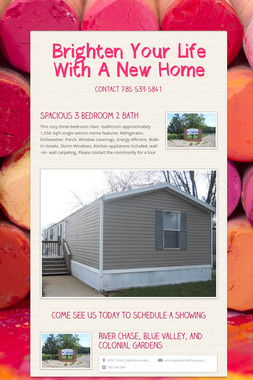 Brighten Your Life With A New Home