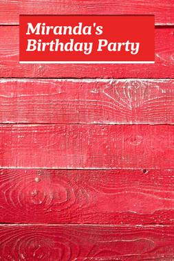 Miranda's Birthday Party