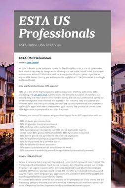 ESTA US Professionals