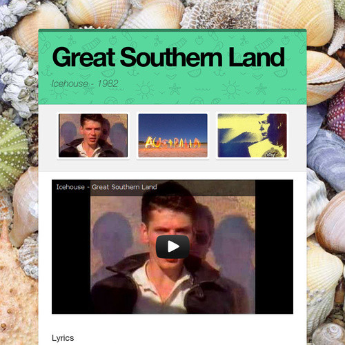 Great Southern Land