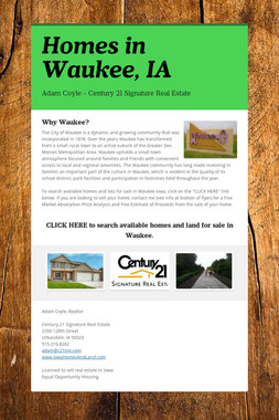 Homes in Waukee, IA