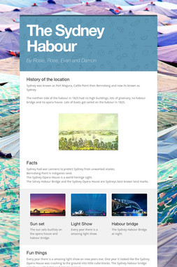 The Sydney Habour