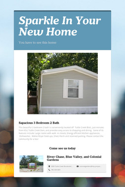 Sparkle In Your New Home