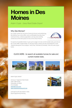 Homes in Des Moines
