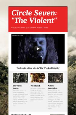 """Circle Seven: """"The Violent"""""""