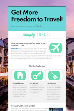 Get More Freedom to Travel!