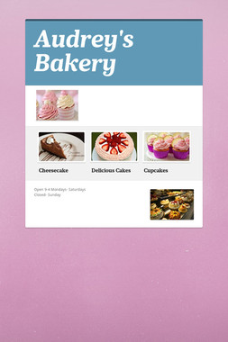 Audrey's Bakery