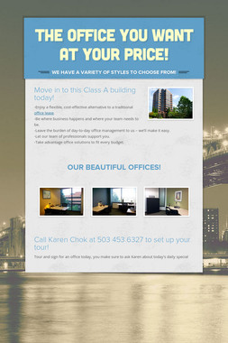 The office you want at your price!