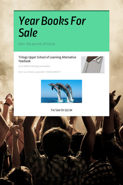 Year Books For Sale
