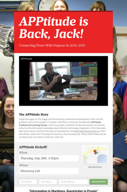 APPtitude is Back, Jack!