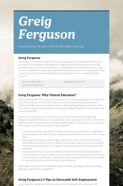 Greig Ferguson