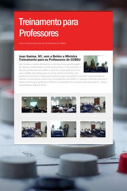 Treinamento para Professores