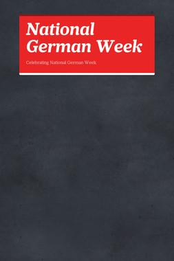 National German Week