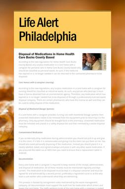 Life Alert Philadelphia
