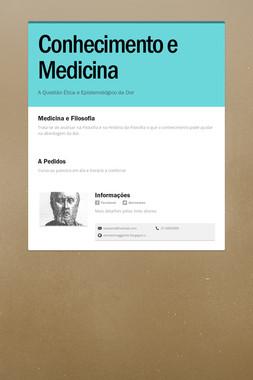 Conhecimento e Medicina