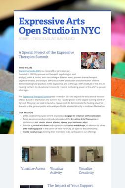 Expressive Arts Open Studio in NYC
