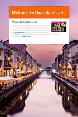 Welcome To Midnight-Escorts