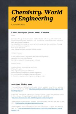 Chemistry: World of Engineering