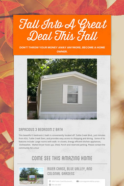 Fall Into A Great Deal This Fall