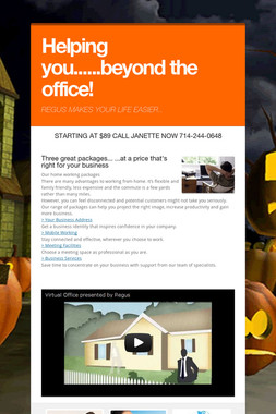 Helping you......beyond the office!