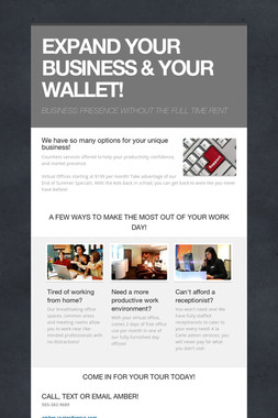 EXPAND YOUR BUSINESS & YOUR WALLET!