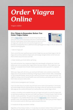 Order Viagra Online