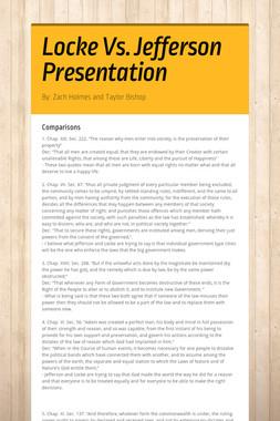 Locke Vs. Jefferson Presentation