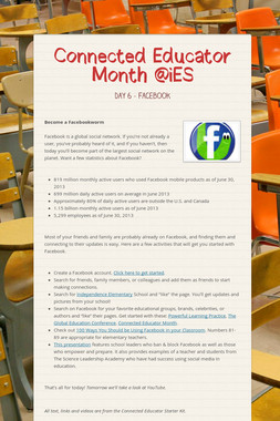 Connected Educator Month @iES