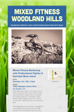Mixed Fitness Woodland Hills