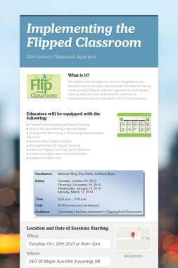Implementing the Flipped Classroom