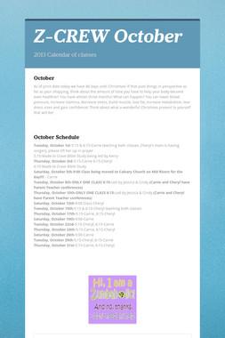 Z-CREW October