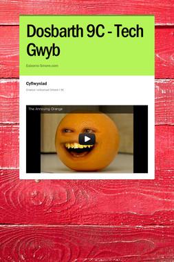 Dosbarth 9C - Tech Gwyb