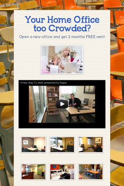 Your Home Office too Crowded?