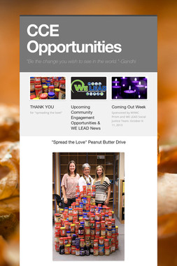 CCE Opportunities