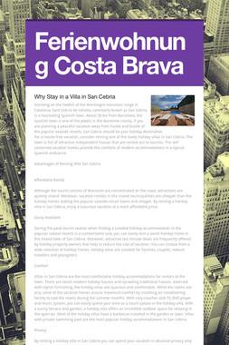 Ferienwohnung Costa Brava