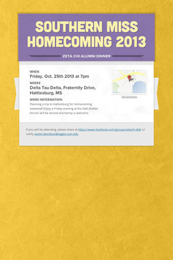 SOUTHERN MISS HOMECOMING 2013