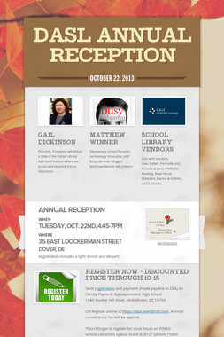 DASL Annual Reception