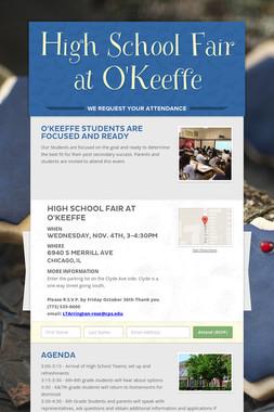 High School Fair at O'Keeffe