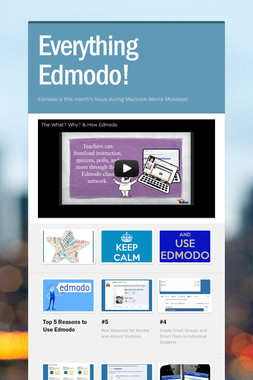 Everything Edmodo!