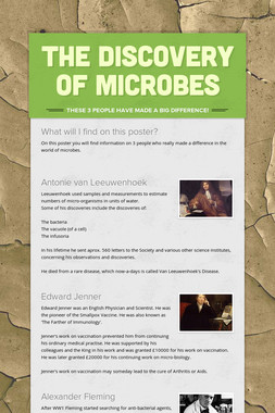 The Discovery of Microbes