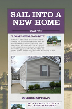 Sail Into A New Home