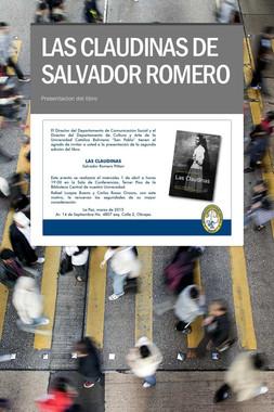 LAS CLAUDINAS DE SALVADOR ROMERO